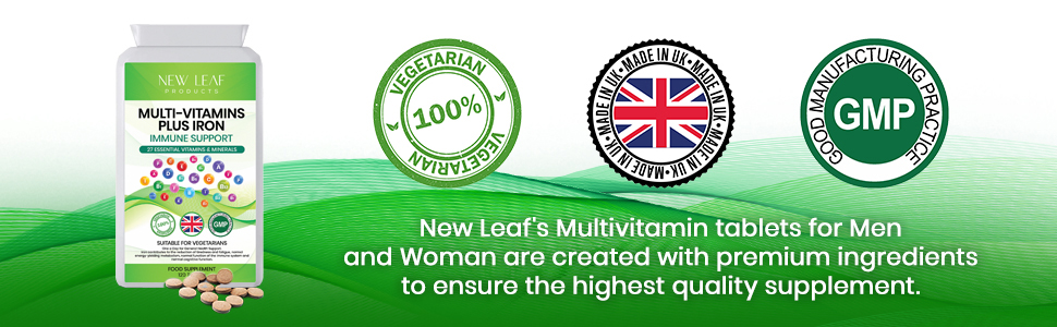 New Leaf Products Made in UK