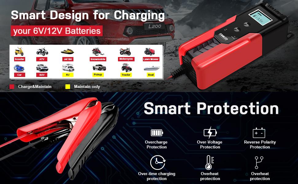 Automotive Smart Battery Maintainer