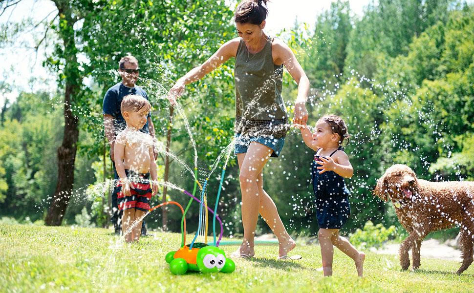 kids sprinkler toy