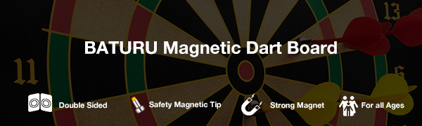 magnetic dart board roll up