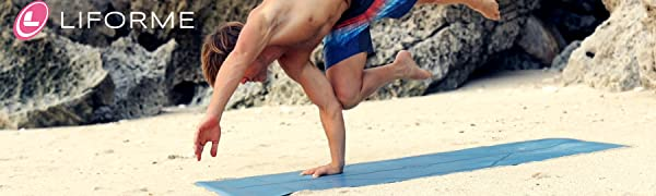 Liforme yoga mat travel