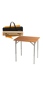 bamboo table,wooden table,folding table,foldable table,portable table,picnic table,outdoor table