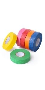 Mr. Pen- Colored Masking Tape, Colored Painters Tape for Arts and Crafts, 6 Pack