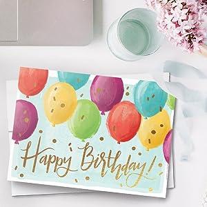 cardsdirect balloon happy birthday cards