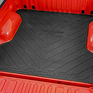 Rough Country Rubber Bed Mat fits 2004-2014 Ford F1505.5 FT Bed Mat
