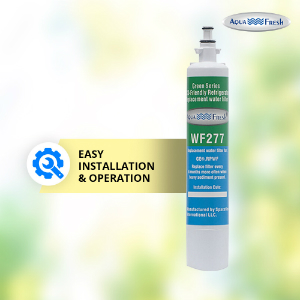 Aqua Fresh WF277 Replacement Water Filter For GE RPWF (Not RPWFE), Water Sentinel WSG-4 Water Filter