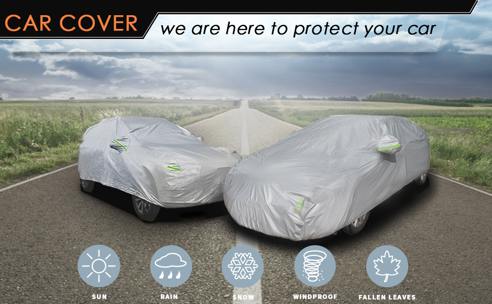 Full Car Cover to All Weather Protect Your Car