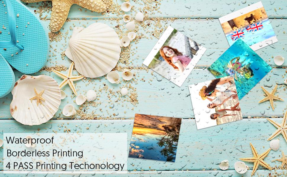 4 PASS photo printer paper
