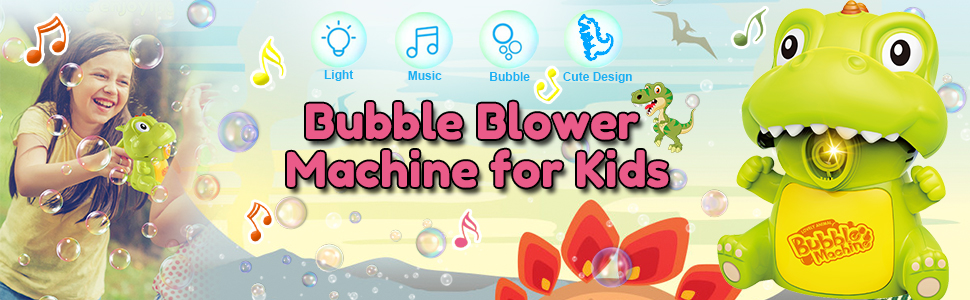 Bubble Machine toys for 1 2 3 4 5 year old boys and girls