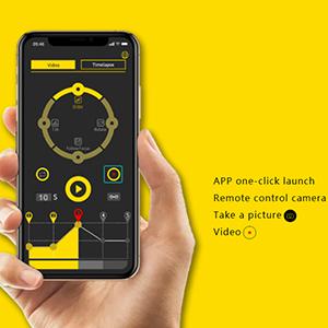 App-based Video/Photo Shutter Control