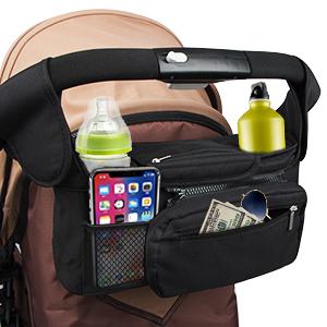 Baby Stroller Organizer Bag