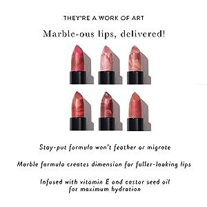LAURA GELLER NEW YORK Italian Marble Hydrating Lightweight Long Lasting Lipstick With Vitamin E