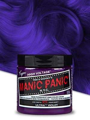 Amazon Com Manic Panic Ultra Violet Hair Dye Classic Chemical Hair Dyes Beauty