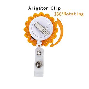 360 degree rotating clip