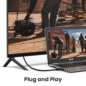 UGREEN Displayport Cable 1.4, 8k DisplayPort to DisplayPort Cable Nylon Braided