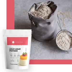 how to use agar agar fine powder a little goes a long way