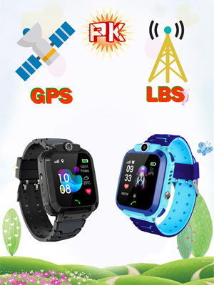 Kids Smart Watch Built in Selfie-Camera, Gift for Boys Girls Electronic Watches