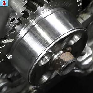 Replace OE 1338//3824498, 5046//3824500 1338 Front Cover Crankshaft Seal /&5046 Wear Sleeve Installer Tool Kit For Cummins 3.9L 5.9L 6.7L