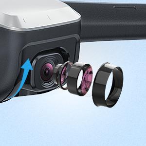 1080P 90° einstellbare Kamera