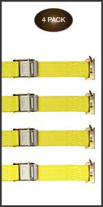12 foot E-Track Cam Buckle Tie-Down straps