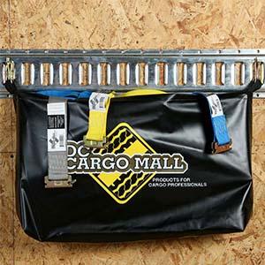 E-Track Storage bag on E-Track holding straps