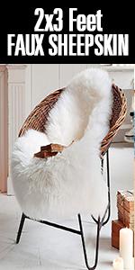 faux fur rug