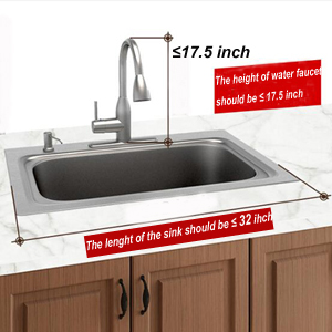 Accurately Measure the Sink Size