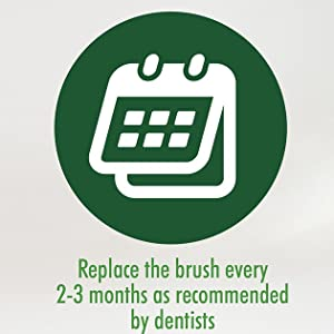 toothbrush aftercare instructions replace