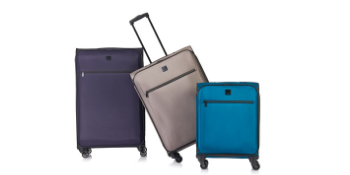 tripp luggage, large suitcase, medium suitcase, cabin luggage, soft shell luggage, travel luggage