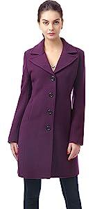 BGSD Women's Joan Wool Blend Walking Coat