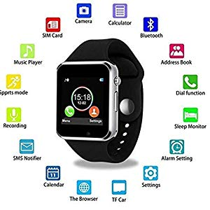 a1 smart watch watches smartwatch black android bluetooth 4g