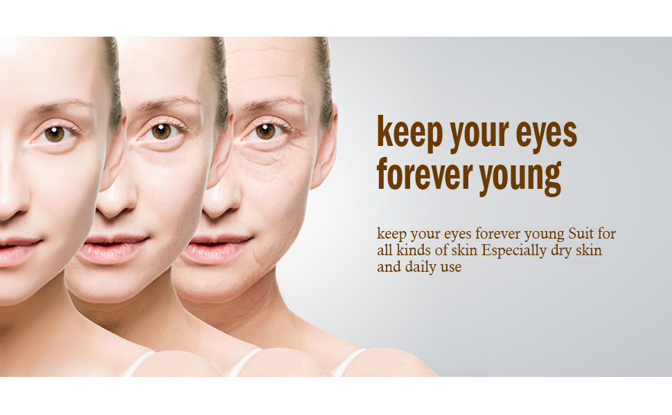 keep your eyes forever young
