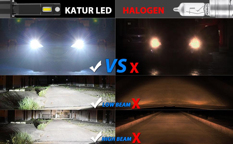 H1 Led Headlight Bulbs