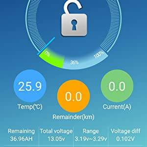 Bluetooth app, lifepo4 app, lithium battery app