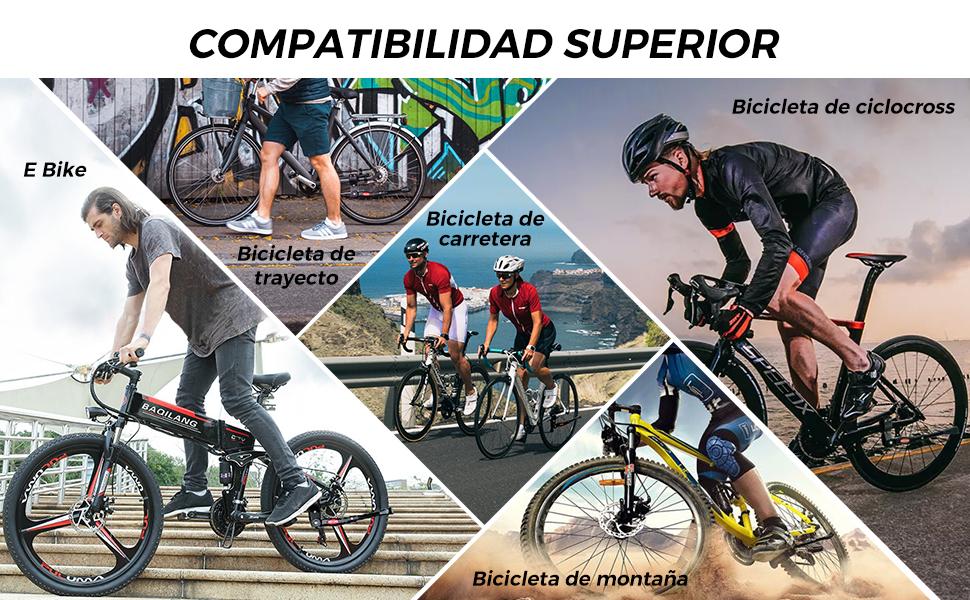 HENMI caballetes para Bicicletas, 4cm Altura Ajustable y Durable ...