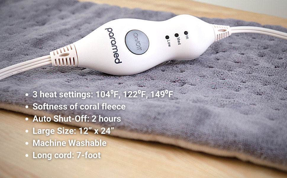 heating pad by paramed