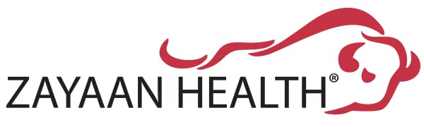Bison Life's Zayaan Health logo with the bison bull icon