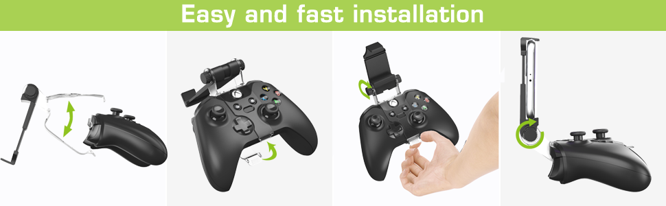 xbox one controllelr mount clip