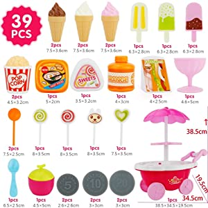 39 Pcs Candy