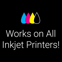 Breathing Color Crystalline Works on All Inkjet Printers!