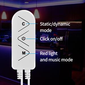 60ft LED strip lights