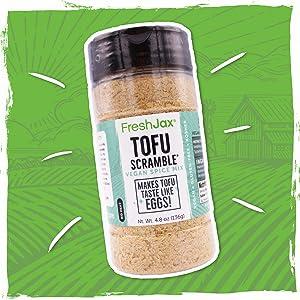 FreshJax Tofu Scramble Vegan Spice Blend