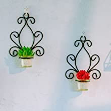 scroll candle sconces