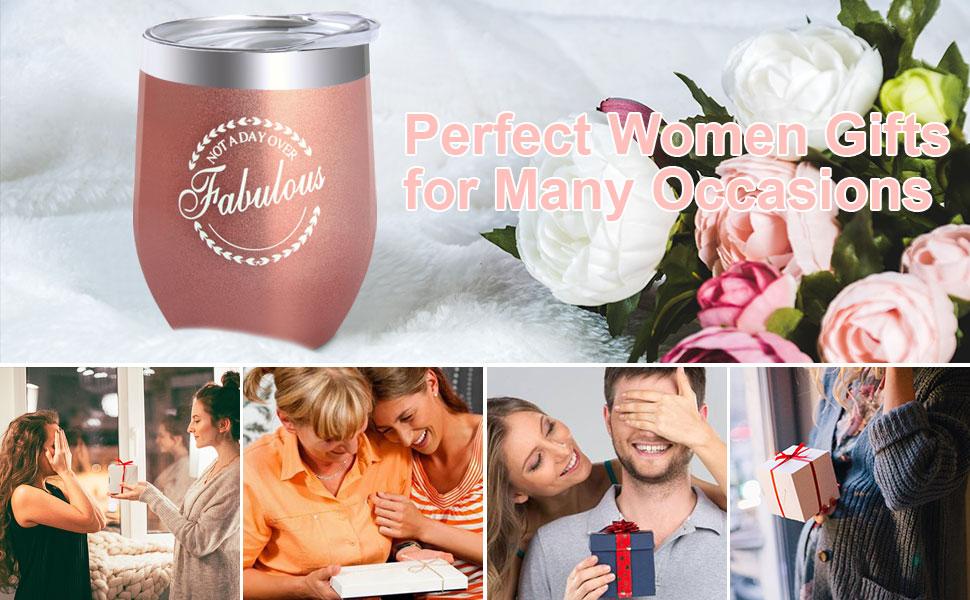 birthday gift for women wine funny tumbler glasses coffee cup mug