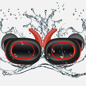 water proof wireless earbuds
