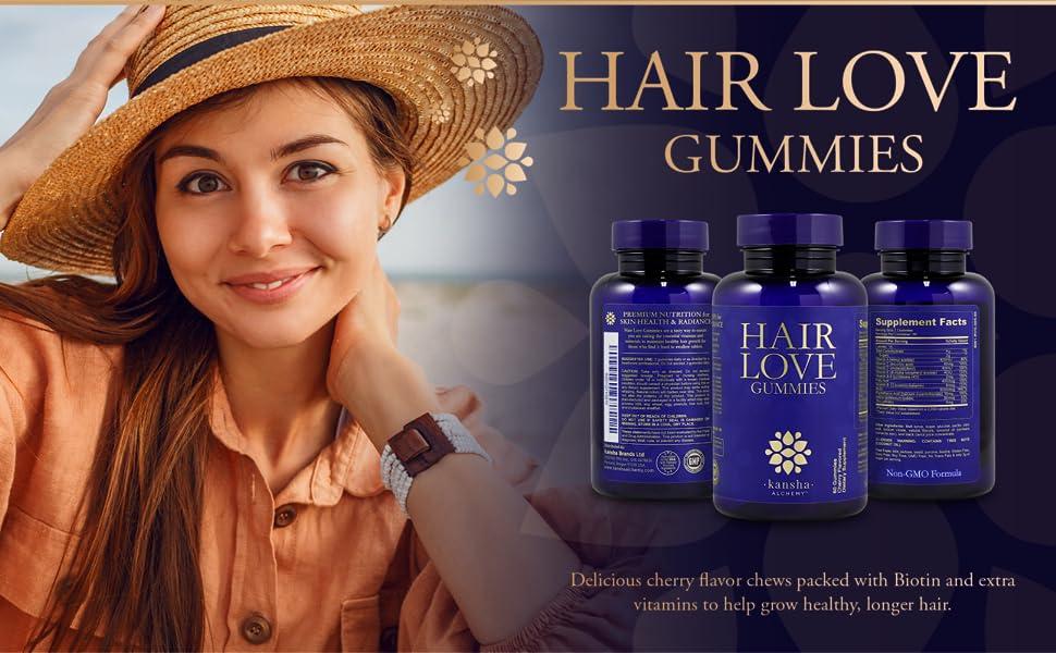 Kansha alchemy good hair growth shine beauty stimulate long beautiful healthy nutrient natural