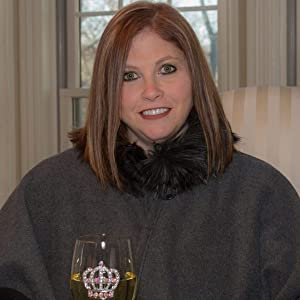 Candice Cherry - Chief Jeweled Officer, exquisite hand crafted jeweled wine glasses. Unique Gifts.