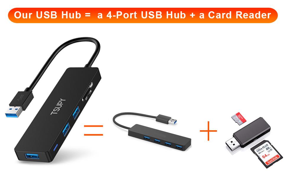 USB HUB 3.0.