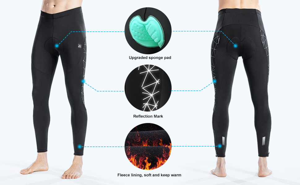 cycling leggings-paded