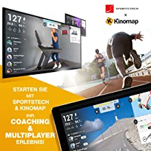 Sportstech F37 Profi Laufband-Deutsche Qualitätsmarke